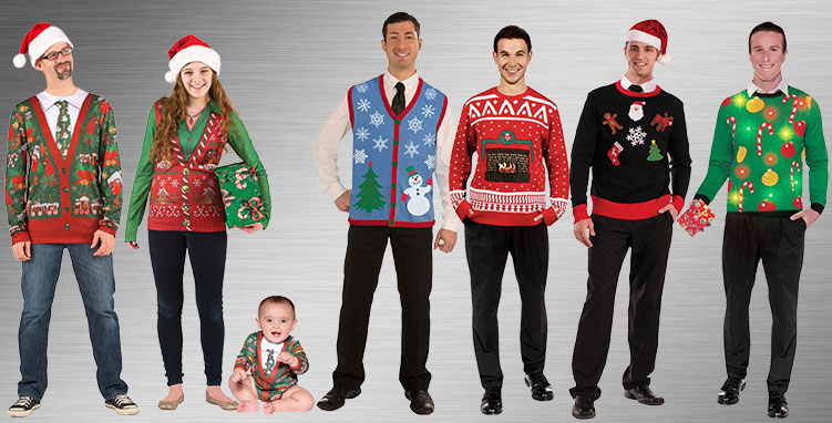 Ugly Sweaters Costume Ideas