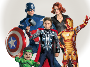 The Avengers Costumes