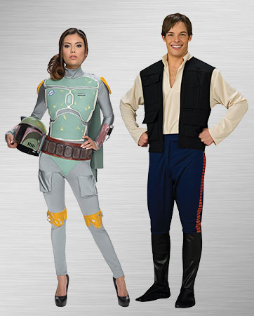 Boba Fett and Han Solo Costume