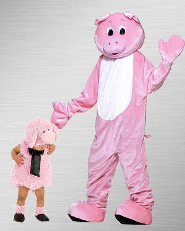 Pig & Little Piggy Costume