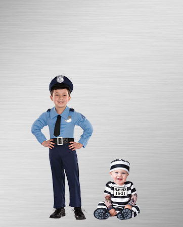 Police Boy and Prisoner Baby
