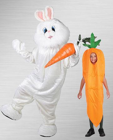Bunny & Carrot Costume