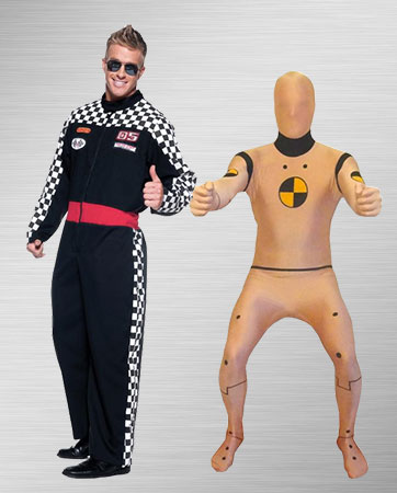 Race Driver & Crash Dummy Costume