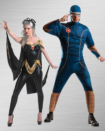 Cyclops and Storm Costume