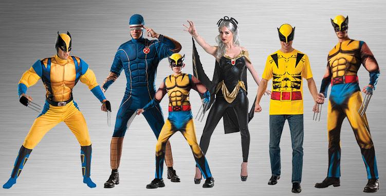 X,Men Costume Ideas