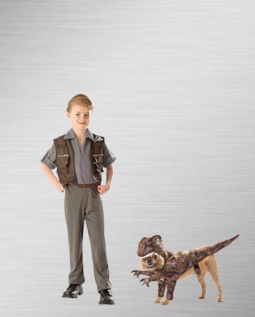 Boy Owen Raptor Costume