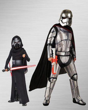Captain Phasma and Kylo Ren Costume