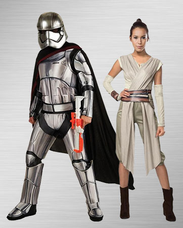 Captain Phasma and Rey Costume