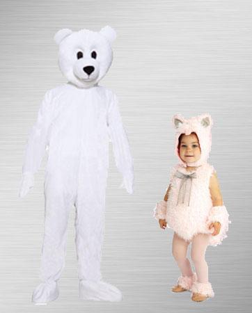 Polar Bear Adult & Baby