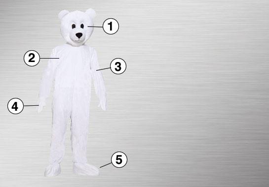 Polar Bear Ultimate Costume