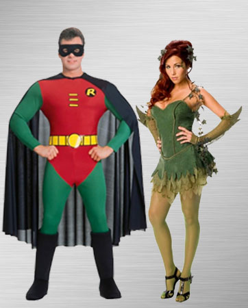 Robin & Poison Ivy Costume