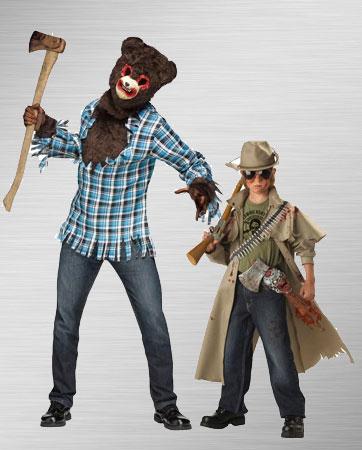 Psycho Bear & Zombie Hunter Costume