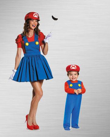 Mario Mom & Mario Baby