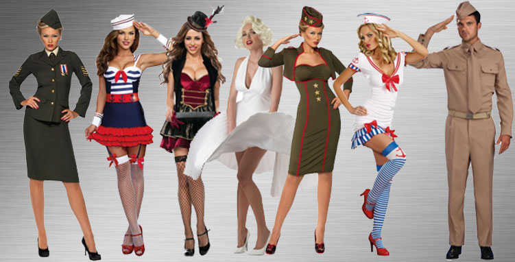 WWII & Pin-up Costume Ideas