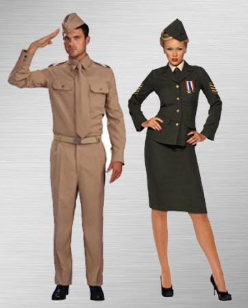Male & Female Soldiers