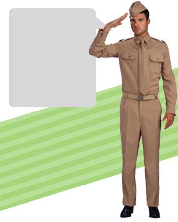 Male Soldier Bio