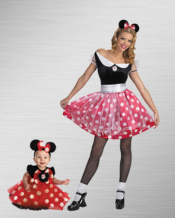 Minnie Mouse Duo Costume