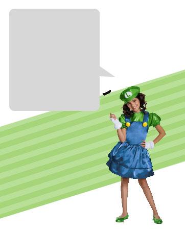 Luigi Girl Bio