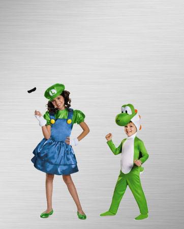 Luigi & Yoshi Costume