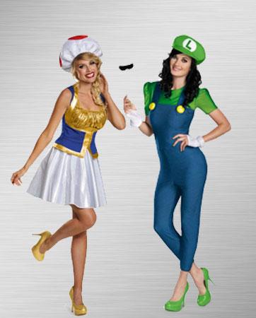 Toad & Luigi Costume