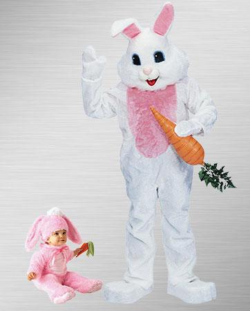 Baby Bunny & Easter Bunny