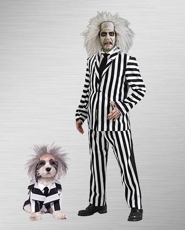 Beetlejuice & Dog Costume
