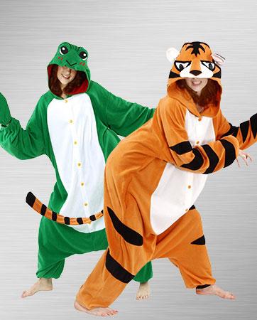 Cozy Tiger & Frog