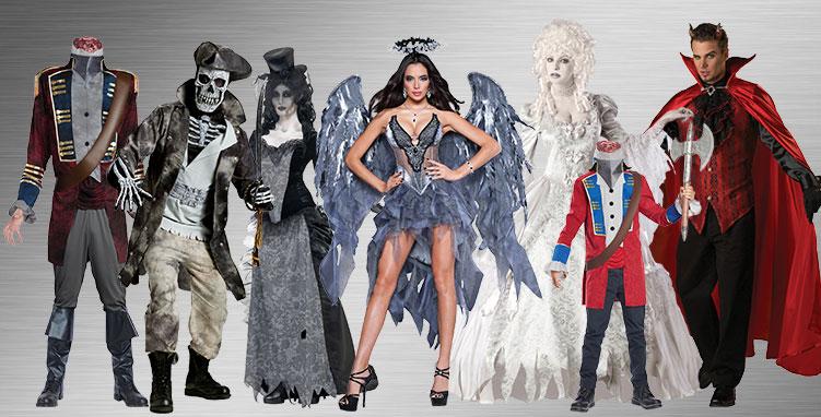 Devils, Demons & Ghost Costume Ideas