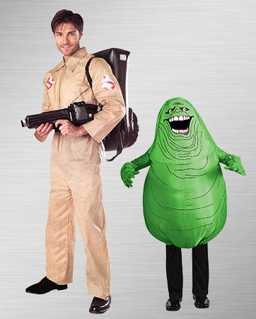 Ghostbuster & Slimer Costume