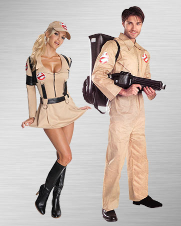 Ghostbusting Couple