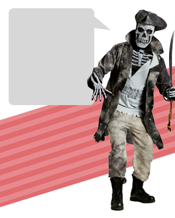 Pirate Ghost Bio