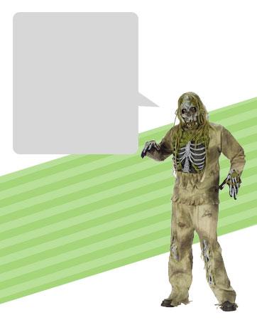 Skeleton Zombie Bio