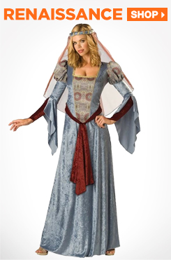 Shop Renaissance Adult Costumes