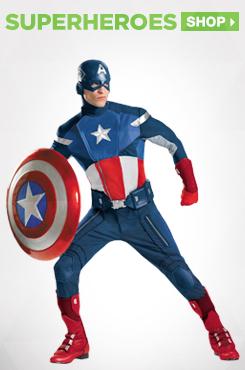 Shop Superhero Adult Costumes