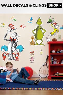Shop All Wall Decals and Clings
