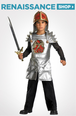 Shop All Kids Renaissance Costumes and Accessories