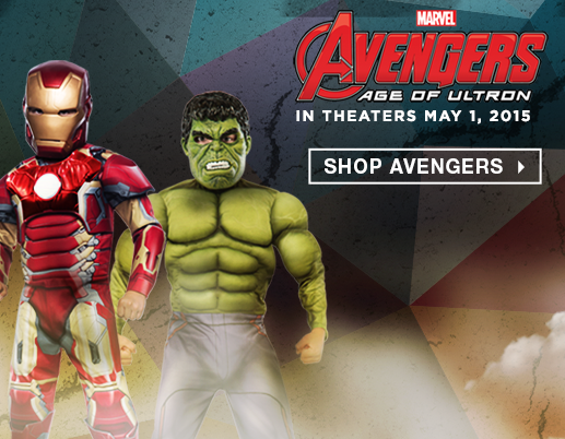 Shop All Kids Avengers Costumes and Accessories