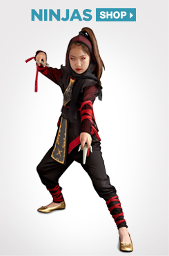 Shop All Kids Ninjas Costumes and Accessories