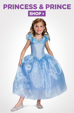 Shop All Kids Princess and Prince Costumes and Accessories