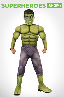 Shop All Kids Superheroes Costumes and Accessories
