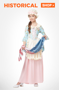 Shop All Kids Historical Costumes and Accessories