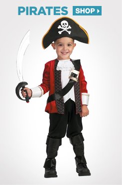 Shop All Kids Pirate Costumes and Accessories