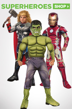 Shop All Kids Superhero Costumes and Accessories