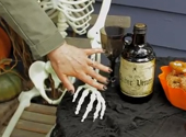 How to set up a posable skeleton