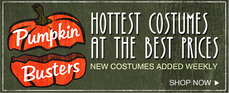 Pumpkin Busters - Hottest costumes at the best prices. New costumes added weekly. Shop Now