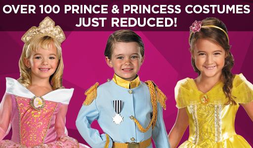 Shop Prince and Princess Costumes