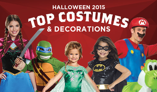 Halloween 2015 Top Costumes and Decorations