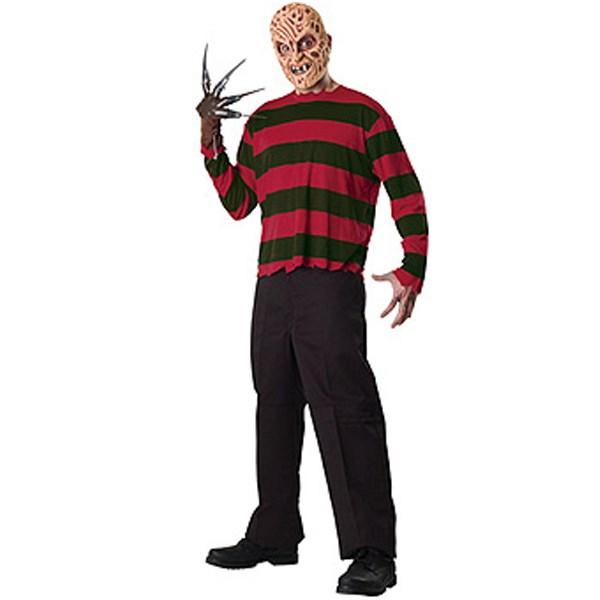 A Nightmare On Elm Street - Freddy Krueger Adult Costume Kit ...
