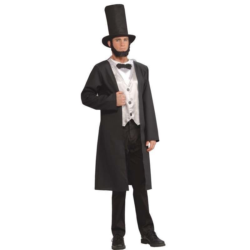 Abe Lincoln Adult Costume $29.99 AT vintagedancer.com