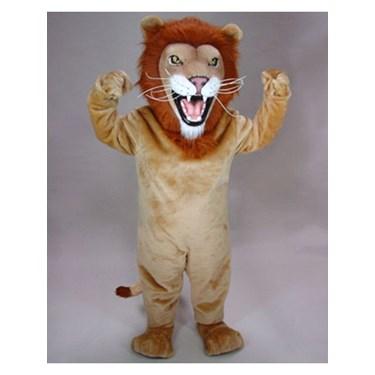 Adult African Lion Mascot Costume